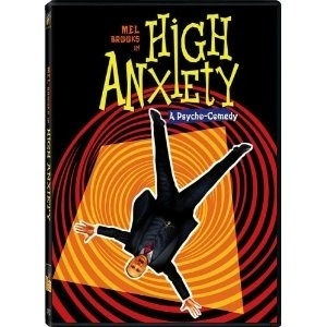 poster for Mel Brooks' 1977 comedy High Anxiety